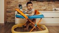 Andaderas para bebés: 5 razones para no usarlas (y cuál es la más indicada)