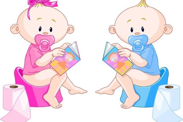 4 passos para ensinar a criança a fazer xixi no banheiro