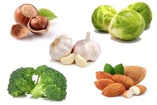 Outros alimentos ricos em cisteína