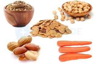 Foods rich in complex carbohyrates