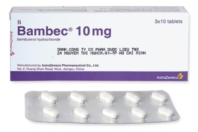 Bambuterol (Bambec)