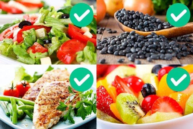 Debes bajar consumir para de no alimentos peso que