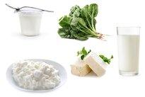 Comer alimentos ricos em cálcio