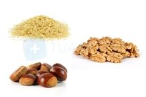 Comer alimentos ricos em vitamina E e zinco