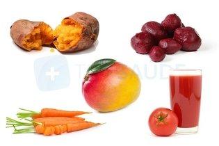 Alimentos de origem vegetal ricos em vitamina A