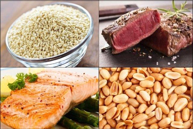 Alimentos ricos em Niacina