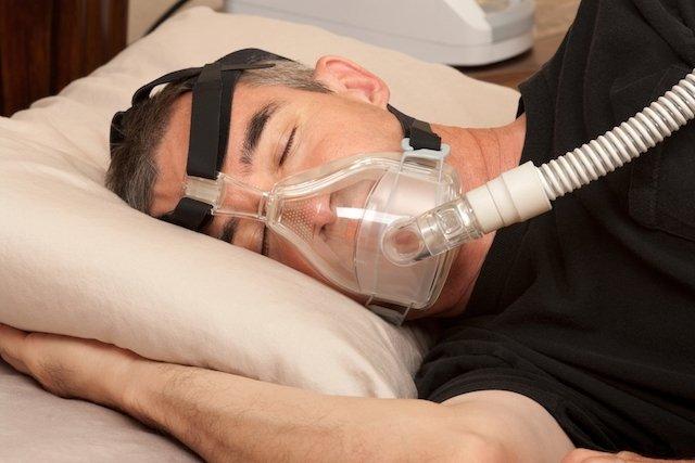 Dormir com CPAP