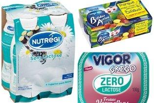 Exemplos de iogurte para intolerantes a lactose