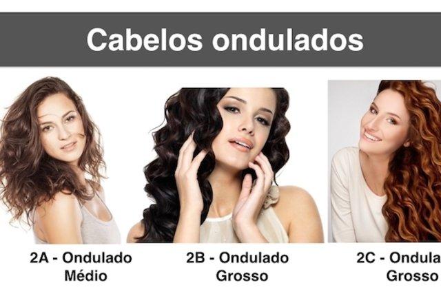 Tipos de cabelo ondulado