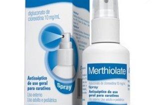 Merthiolate solução spray