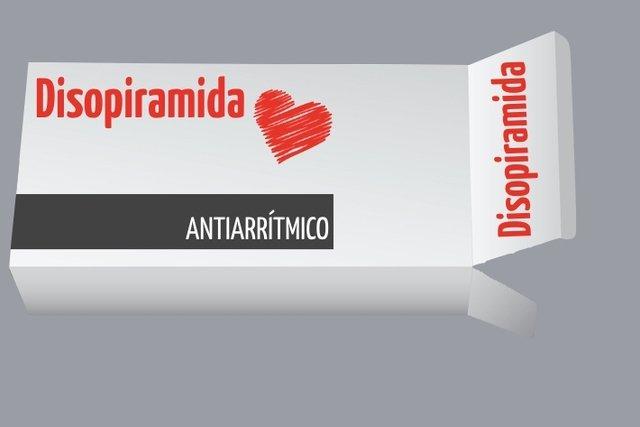 Disopiramida para controlar os batimentos cardíacos