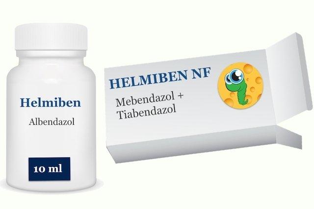 Helmiben - Remédio para Vermes