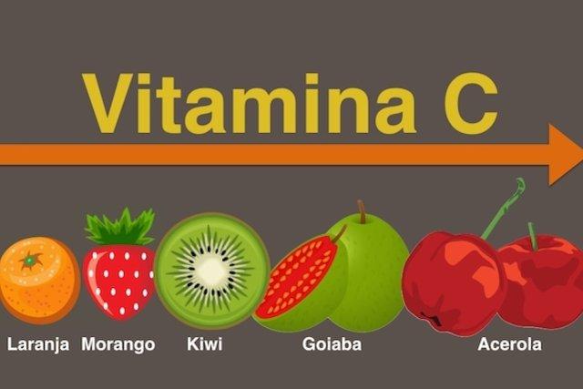 A laranja não é a fruta mais rica em vitamina C.
