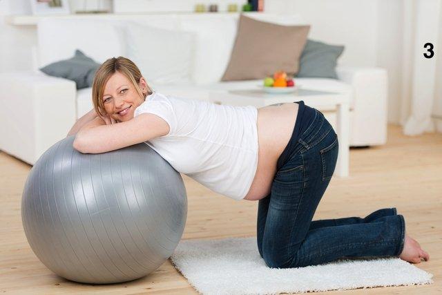 Exercícios de alongamento na gravidez