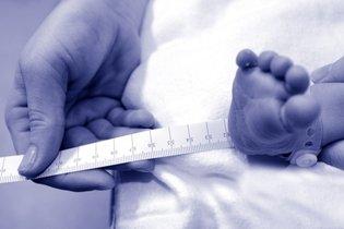 Avaliação da altura do bebê