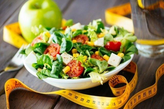 Salada com fruta