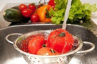 Lavar bem os alimentos