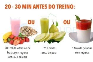 Alimentação saudável para atividade física