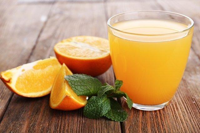 Suco de laranja para controlar a pressão arterial