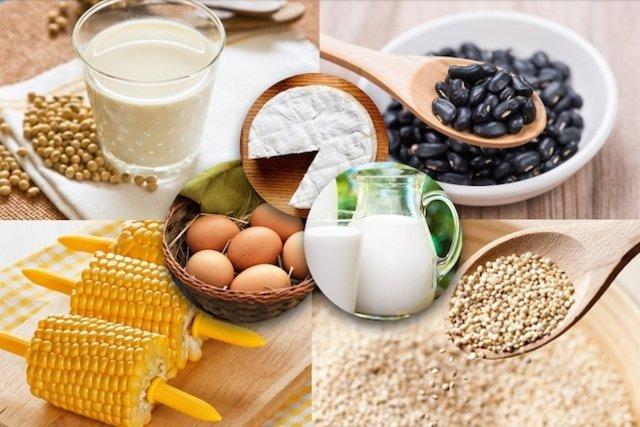 Dieta rica em proteína para vegetarianos