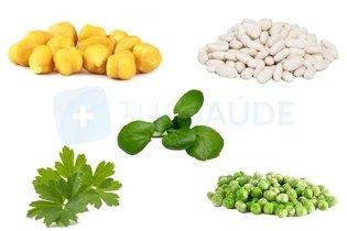 Alimentos ricos em ferro de fonte vegetal