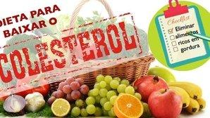 Dieta para bajar el colesterol (con menú ejemplo)