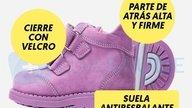 Talla de zapatos ideal para niños y bebés