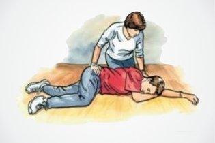 O que fazer quando a vítima desmaia