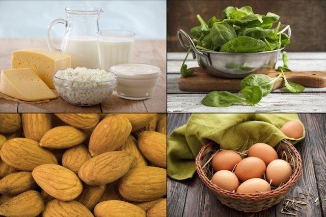 Alimentos ricos em Vitamina B2