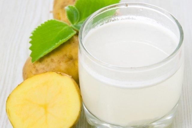 Suco de batata para dor de estômago