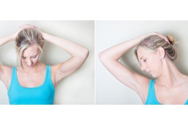 Resultado de imagem para exercicios na coluna cervical