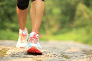 Correr ou caminhar
