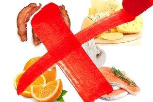 Alimentos a evitar na dieta