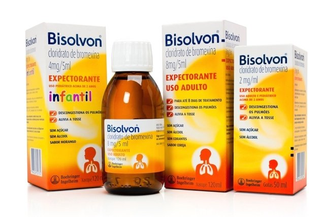 Cloridrato de Bromexina (Bisolvon)