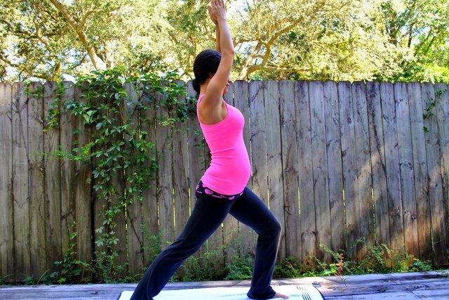 Exercícios de Yoga para gestantes