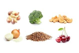 Frutas, legumes e sementes anti-inflamatórias