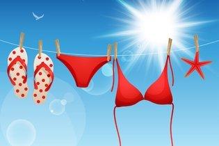 Trocar as roupas molhadas por roupas secas logo que possível