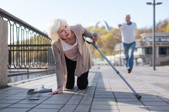 Causas das quedas em idosos e suas consequências