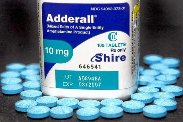 Anfetamina (Adderall)