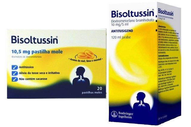 Bisoltussin em pastilhas moles ou xarope