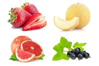Frutas da dieta das calorias negativas