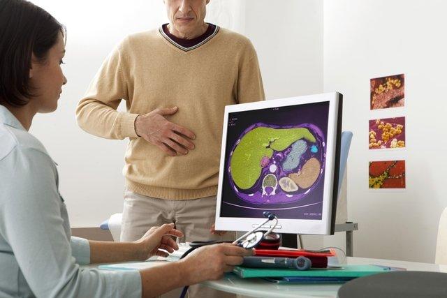Síntomas de problemas en el hígado