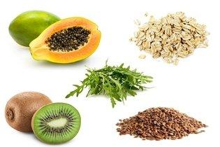 Preferir frutas, verduras e cereais integrais