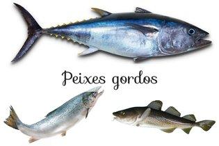Bacalhau, atum, salmão