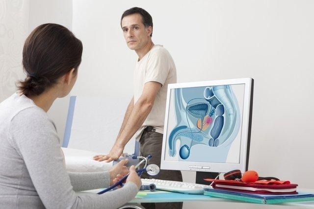 preparación de ultrasonido de próstata