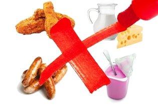 Alimentos a evitar para reduzir o colesterol