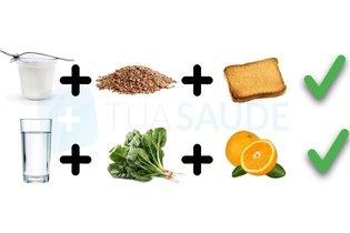 Exemplos de lanches saudáveis