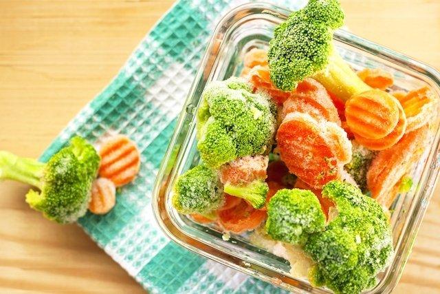 Comida congelada faz mal à saúde?