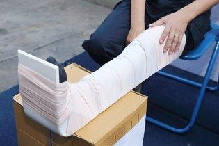 Luxação do tornozelo