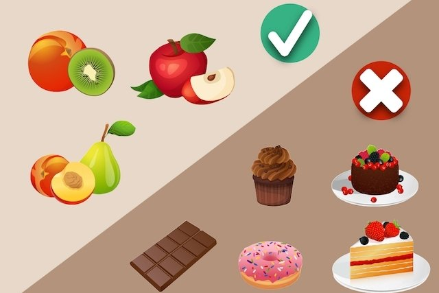 Comer fruta na sobremesa e evitar doces